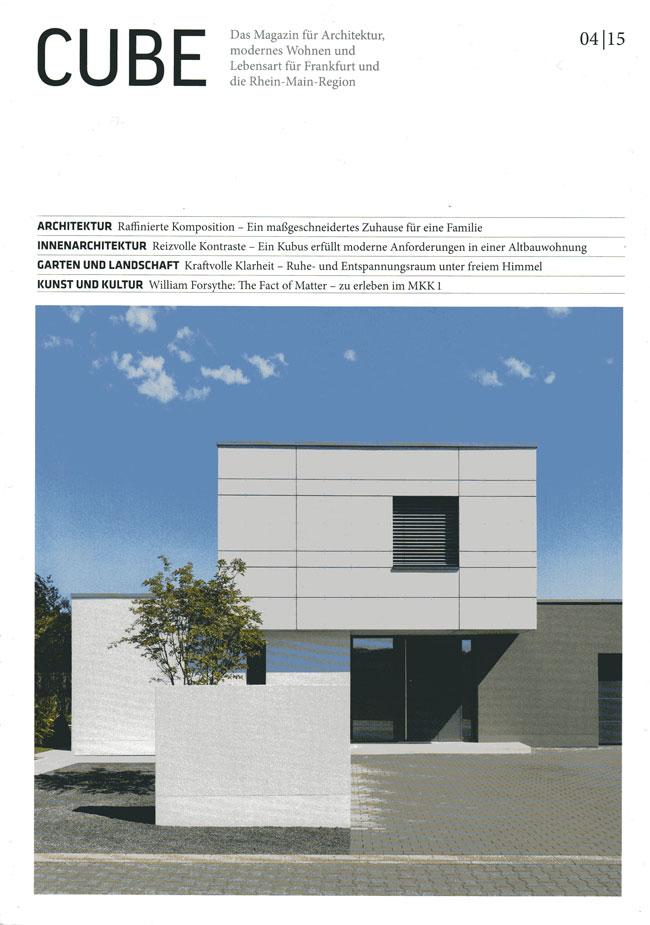 Cube Magazin 04/15 - Artikel über Zahnarztpraxis Interieur Design ...